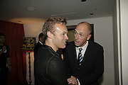 Dylan Jones and Graham Norton, GQ Men Of The Year Awards, Royal Opera House, London, WC2. 5 September 2006. ONE TIME USE ONLY - DO NOT ARCHIVE  © Copyright Photograph by Dafydd Jones 66 Stockwell Park Rd. London SW9 0DA Tel 020 7733 0108 www.dafjones.com