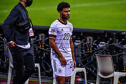 SEVILLE, SPAIN - Tuesday, November 17, 2020: Serge Gnabry of Germany disappointed during the UEFA Nations League match between Spain and Germany at Estadio La Cartuja de Sevilla on november 17, 2020 in Seville, Spain (Photo by Jeroen Meuwsen/Orange Pictures)