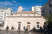 The Monastery at Monastiraki Square, Athens, Greece
