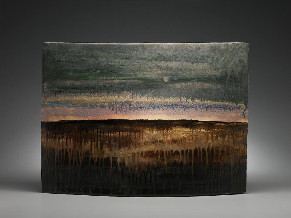 Ceramic artwork by Jeff Mincham