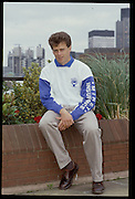 Molesey, Great Britain. Minit Insurance sponsorship press conference. Back row.  Richard STANHOPE,  1992 British International Rowing. [Mandatory Credit. Peter Spurrier/Intersport Images] +1992 +Molesey +Henley 1992 GBRowing Training, Molesey/Henley, United Kingdom