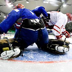 20100414: SLO, Ice hockey, Friendly match, Slovenia vs Denmark