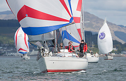Pelle P Kip Regatta 2019 Day 1<br /> <br /> Light and bright conditions for the opening racing on the Clyde keelboat season.<br /> 8858, Close Encounters, Griogair Whyte, RNCYC, Sigma 33 OOD