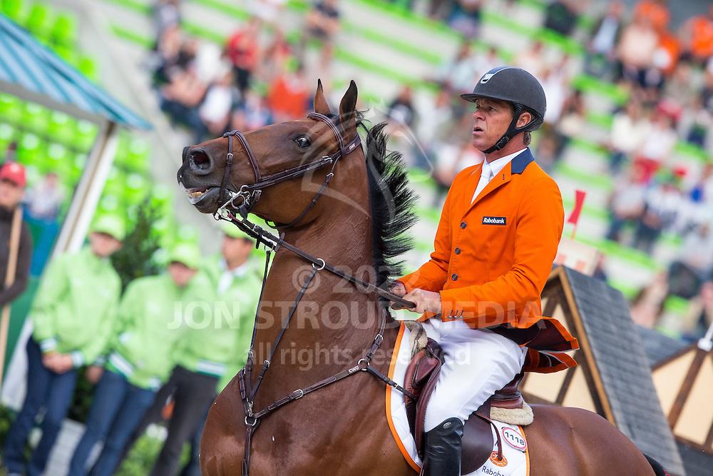 Jeroen Dubbeldam, (NED), Zenith SFN - Team & Individual Competition Jumping Speed - Alltech FEI World Equestrian Games™ 2014 - Normandy, France.<br /> © Hippo Foto Team - Leanjo De Koster<br /> 02-09-14