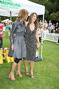 TRINNI WOODALL AND ELIZABETH HURLEY,  Sixth Macmillan Dog Day for Macmillan Cancer Support, Supported by Savills. Royal Hospital Chelsea, London, SW3. 3 July 2007. -DO NOT ARCHIVE-© Copyright Photograph by Dafydd Jones. 248 Clapham Rd. London SW9 0PZ. Tel 0207 820 0771. www.dafjones.com.