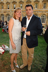 GORDON & EMMA DAWSON she is the daughter of Judith Chalmers at the Lady Taverners Westminster Abbey Garden Party, The College Garden, Westminster Abbey, London SW1 on 10th July 2007.<br />