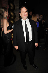 HARVEY WEINSTEIN at The Love Ball hosted by Natalia Vodianova and Lucy Yeomans to raise funds for The Naked Heart Foundation held at The Round House, Chalk Farm, London on 23rd February 2010.