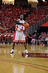 "31 January 2009: Osiris Eldridge. The Illinois State University Redbirds join the Bradley Braves in a tie for 2nd place in ""The Valley"" with a 69-65 win on Doug Collins Court inside Redbird Arena on the campus of Illinois State University in Normal Illinois"
