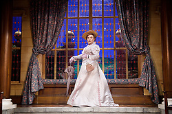 The Importance of Being Ernest <br /> by Oscar Wilde <br /> at the Vaudeville Theatre, London, Great Britain <br /> press photocall <br /> 26th June 2015 <br /> <br /> directed by Adrian Noble <br /> <br /> David Suchet as Lady Bracknell <br /> <br /> <br /> <br /> Photograph by Elliott Franks <br /> Image licensed to Elliott Franks Photography Services