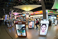 Cosmetics, Duty free shopping, Suvarnabhumi International Airport, Bangkok, Thailand