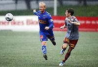 Fotball , 17. juli 2011 , Addecoligaen , 1. divisjon<br /> Strømmen - Sandefjord <br /> Martin Jensen ,  Sandefjord<br /> Christer Jensen , Strømmen