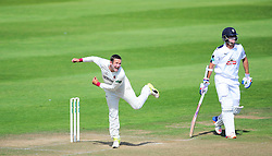 Roelof Van Der Merwe of Somerset in action.   - Mandatory by-line: Alex Davidson/JMP - 23/08/2016 - CRICKET - Cooper Associates County Ground - Taunton, United Kingdom - Somerset v Hampshire - Specsavers County Championship Division One