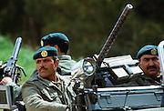 Soldiers on patrol, Jordan
