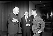 1967 - Reception for New Orleans Delegation (International House) at the United States Embassy,