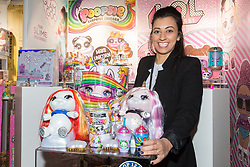 Poopsie Magical Unicorn from MGA Entertainment retails at £49.99 and is sure to be a hit with children. Ahead of Christmas the Dream Toys exhibition at St Mary's Church in Marylebone, London showcases the hottest toys in the market including the top twelve. London, November 14 2018.