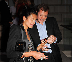 GOGA ASHKENAZI and MATTHEW FREUD at the Royal Academy of Arts Summer Party held at Burlington House, Piccadilly, London on 9th June 2010.