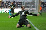 Swansea City v Norwich City 081212