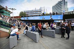 20 August 2017 -  Premier League - Tottenham Hotspur v Chelsea - Fans congregate at Wembley Park Station - Photo: Marc Atkins/Offside
