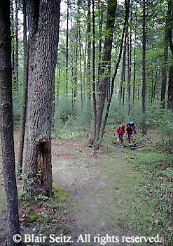 PA landscapes Hiking, Camping, Appalachian Trail, Pine Grove Furnace State Park, Cumberland Co.. PA