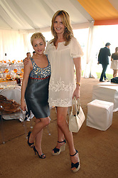 Left to right, actress JAIME WINSTONE and PENNY LANCASTER wife of Rod Stewart at the final of the Veuve Clicquot Gold Cup 2007 at Cowdray Park, West Sussex on 22nd July 2007.<br /><br />NON EXCLUSIVE - WORLD RIGHTS