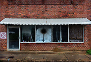Deserted shop front on 5th March 2020 in Dothan, The Peanut Capital of the World, Alabama, United States of America.