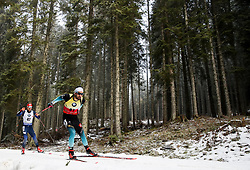 Martin Fourcade (FRA) in action the Men 20km Individual at day 5 of IBU Biathlon World Cup 2018/19 Pokljuka, on December 6, 2018 in Rudno polje, Pokljuka, Pokljuka, Slovenia. Photo by Morgan Kristan / Sportida