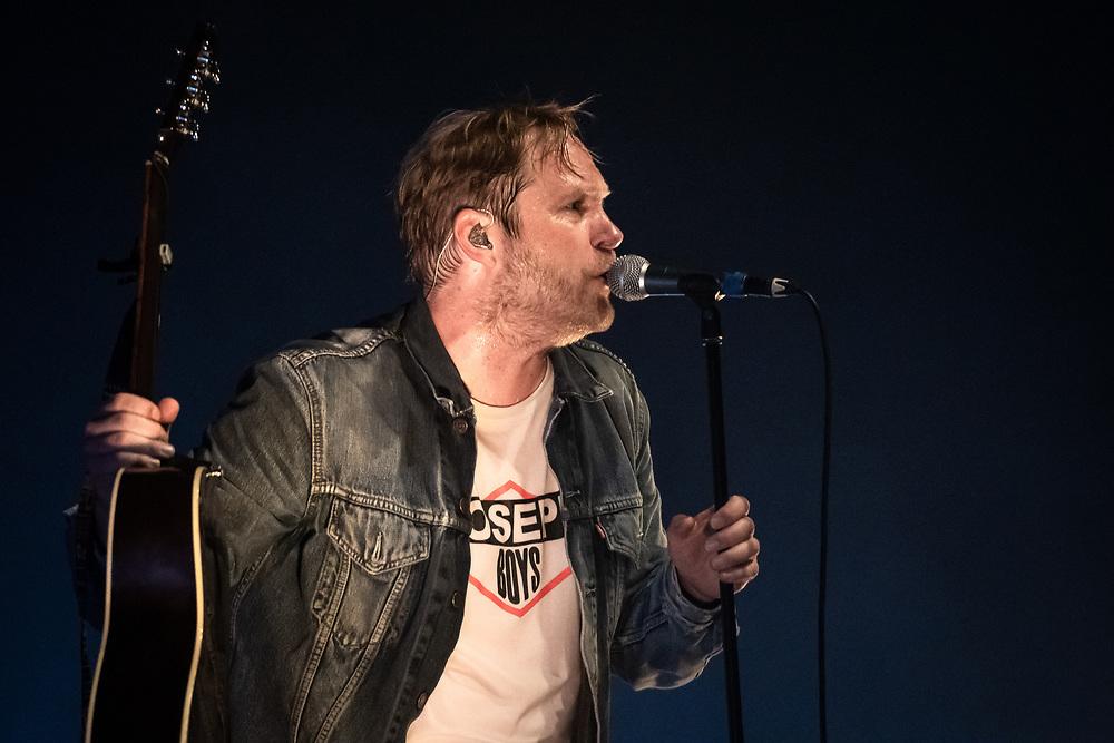 German singer-songwriter Thees Uhlmann at Schlachthof Wiesbaden