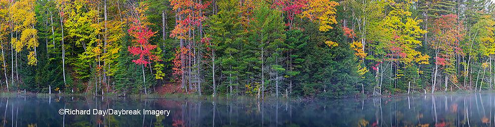 64776-01120 Council Lake in fall Alger Co. MI