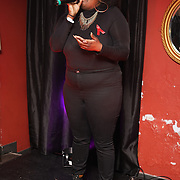 X Factor 2016: Anelisa Lamola takes the stage at Muse in Soho for one night to help raise money for GMFA – The gay men's health charity and their HIV prevention and stigma-challenging work on 1st December 2016 in Soho,London,UK. Photo by See Li