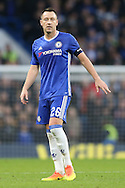 John Terry, the Chelsea captain looking on. The Emirates FA cup, 3rd round match, Chelsea v Peterborough Utd at Stamford Bridge in London on Sunday 8th January 2017.<br /> pic by John Patrick Fletcher, Andrew Orchard sports photography.