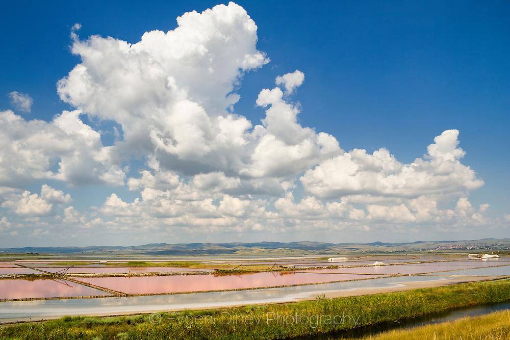 A salt lake Atanasovsko