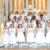 St Ann 2014 First Communion May 3, 2014 1:00 PM