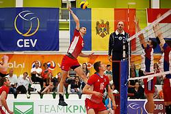 20170524 NED: 2018 FIVB Volleyball World Championship qualification, Koog aan de Zaan<br />Matej Patak (12) of Slovakia <br />©2017-FotoHoogendoorn.nl / Pim Waslander