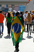 Belo Horizonte_MG, Brasil.<br /> <br /> Manifestacao jogo Brasil x Uruguai pela Copa das Confederacoes 2013 em Belo Horizonte, Minas Gerais.<br /> <br /> Manifestation match between Brazil x Uruguay for the Confederations Cup 2013 in Belo Horizonte, Minas Gerais.<br /> <br /> Foto: LEO DRUMOND / NITRO