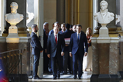 May 29, 2017 - Paris, France - Vladimir Poutine et Emmanuel Macron (Credit Image: © Panoramic via ZUMA Press)