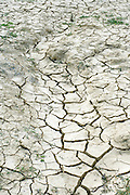 dried out riverbed