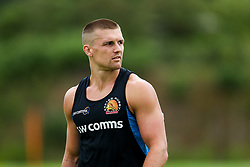 Henry Slade looks on as Exeter Chiefs take part in stage one training as Premiership Rugby clubs take the first steps towards a return to play in August after the Covid-19 enforced break - Rogan/JMP - 19/06/2020 - RUGBY UNION - Sandy Park - Exeter, England - Gallagher Premiership.