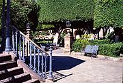 San Miguel de Allende, Mexico, photo from 1990 in El Jardin