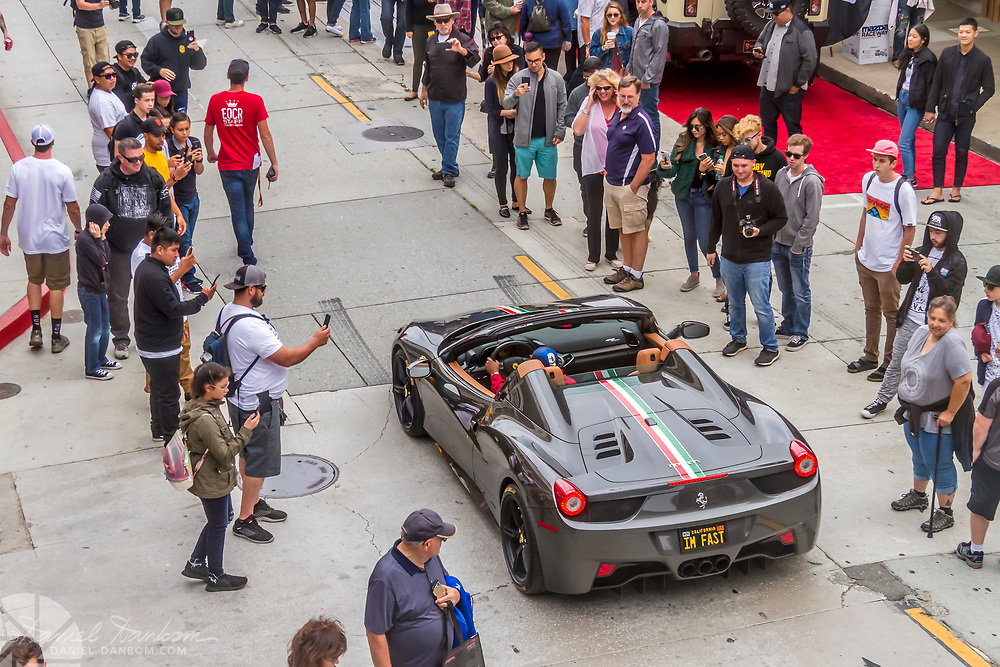 Exotics on Cannery Row, Monterey California, Historic Auto Week, 2018, Exotic and Supercars on Cannery Row.