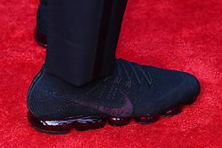April 26, 2018 - Arlington, TX, U.S. - ARLINGTON, TX - APRIL 26:  Saquon Barkley's Nike Shoes on the Red Carpet prior to the 2018 NFL Draft at AT&T Statium on April 26, 2018 at AT&T Stadium in Arlington Texas.  (Photo by Rich Graessle/Icon Sportswire) (Credit Image: © Rich Graessle/Icon SMI via ZUMA Press)