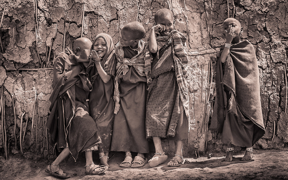 Maasai Kids