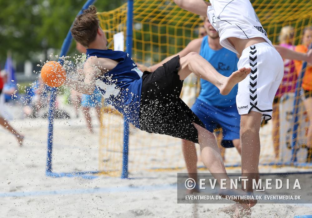 DHF Beach Handball Tour 2014, DM-kvalifikation, Tronholmen, Randers, 1. juni 2014