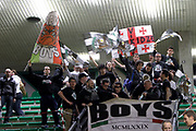 DESCRIZIONE : Treviso Lega A 2011-12 Umana Reyer Venezia Canadian Solar Bologna<br /> GIOCATORE : tifosi canadian solar bologna<br /> CATEGORIA :  tifosi<br /> SQUADRA : Umana Reyer Venezia Canadian Solar Bologna<br /> EVENTO : Campionato Lega A 2011-2012<br /> GARA : Umana Reyer Venezia Canadian Solar Bologna<br /> DATA : 09/04/2012<br /> SPORT : Pallacanestro<br /> AUTORE : Agenzia Ciamillo-Castoria/G.Contessa<br /> Galleria : Lega Basket A 2011-2012<br /> Fotonotizia :  Treviso Lega A 2011-12 Umana Reyer Venezia Canadian Solar Bologna<br /> Predefinita :