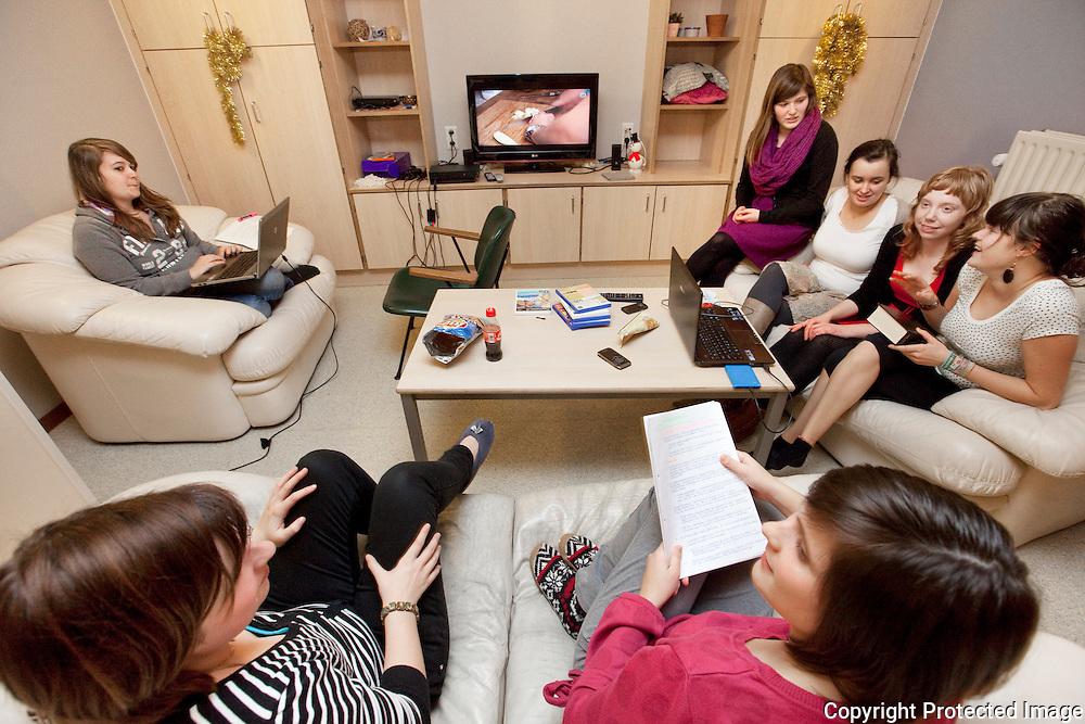 373519-Reportage over leven op een internaat-Vorselaar