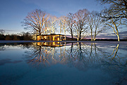 Philip Johnson Glass House, New Canaan, Connecticut USA   Residence<br /> Client is the National Trust for Historic Preservation