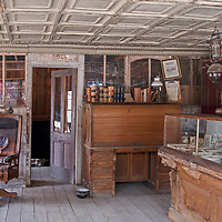 An old store remains intact in Virginia City, a ghost town that was once the capital of Montana Territory.