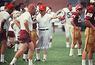 Vince Lombardi, coach if the Washingtoin Redskins at Redskins training camp in July 1969<br /> Photo by Dennis Brack bb72