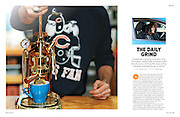 Canadian Coffee Editorial for Zoom Zoom magazine  Issue 08, March 2012 | text by Patricia Gajo