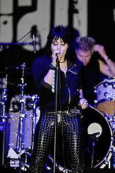 NEWPORT BEACH, CA - 09/16/2011: American rock musician Joan Jett and the Blackhearts perform live at Taste of Newport 2011 . Photo by Eduardo E. Silva