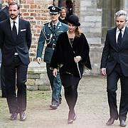 NLD/Delft/20131102 - Herdenkingsdienst voor de overleden prins Friso, Noorse kroonprins Haakon en zijn zus Martha Louise